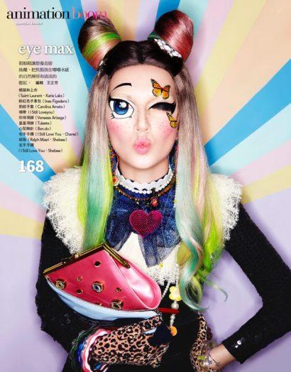 Ines Crnokrak by Enrique Vega for Vogue Taiwan 07